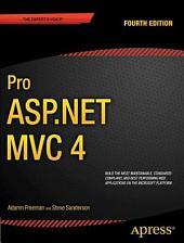 Pro ASP.NET MVC 4: Edition 4