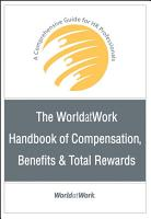 The WorldatWork Handbook of Compensation  Benefits and Total Rewards PDF