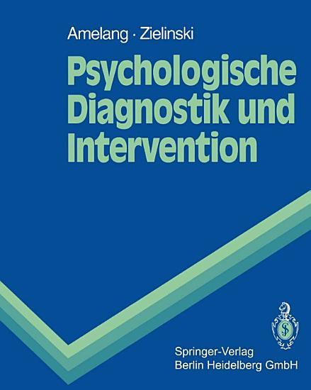 Psychologische Diagnostik und Intervention PDF