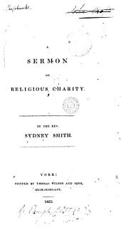 A sermon on religious charity: Volume 2