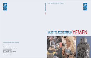 Assessment of Development Results   Yemen PDF