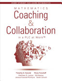 Mathematics Coaching and Collaboration in a PLC at Work PDF