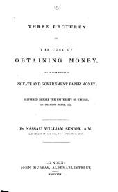 Two Lectures on Population: Delivered Before the University of Oxford, in Easter Term, 1828