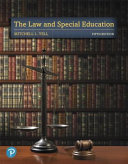 The Law and Special Education Pearson Etext Access Card Book