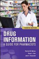 Drug Information  A Guide for Pharmacists  Fourth Edition PDF