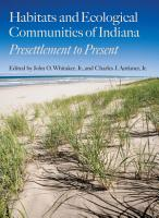 Habitats and Ecological Communities of Indiana PDF