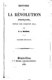 Histoire de la révolution française depuis 1789, jusqu'en 1814: Volume2