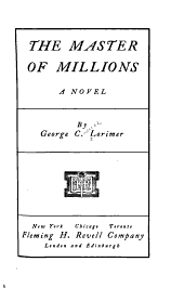 The Master of Millions: A Novel