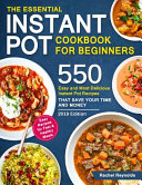 The Essential Instant Pot Cookbook for Beginners