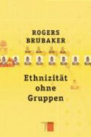 Ethnizit  t ohne Gruppen PDF