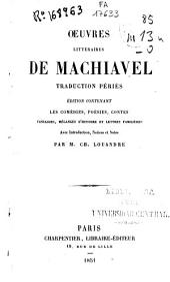 Oeuvres littéraires de Machiavel