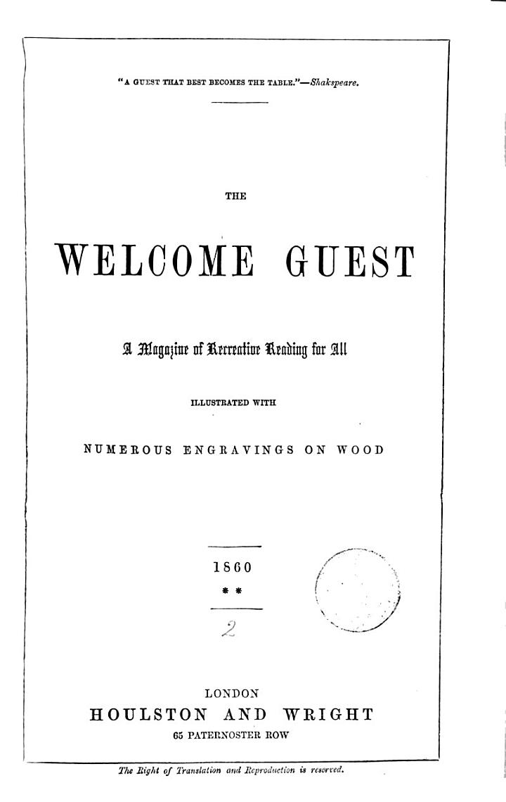 The Welcome guest