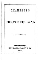 Chambers's Pocket Miscellany: Volumes 15-16