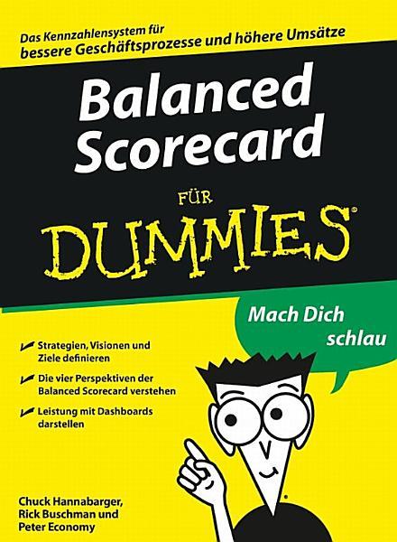 Balanced Scorecard f  r Dummies PDF
