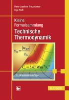 Kleine Formelsammlung Technische Thermodynamik PDF
