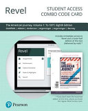 Revel for the American Journey Access Card PDF