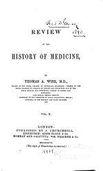 Review of the History of Medicine