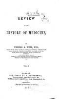 Review of the History of Medicine PDF