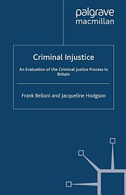 Criminal Injustice PDF