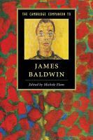 The Cambridge Companion to James Baldwin PDF