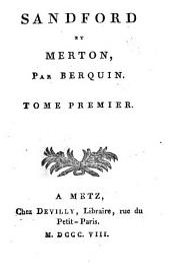 Sandford et Merton: Volumes1à4