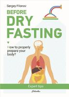 Before the dry fasting PDF