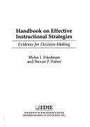 Handbook on Effective Instructional Strategies
