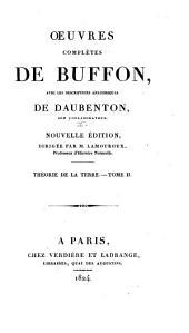 Oeuvres complètes de Buffon: avec les descriptions anatomiques de Daubenton, son collaborateur, Volume2,Partie2