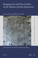 Reappraisals and New Studies of the Modern Jewish Experience PDF