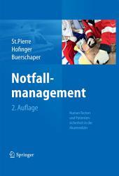 Notfallmanagement: Patientensicherheit und Human Factors in der Akutmedizin, Ausgabe 2