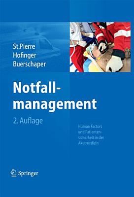 Notfallmanagement PDF