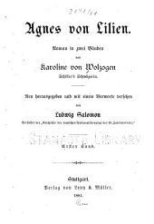 Agnes von Lilien: Roman in zwei bänden, Band 1