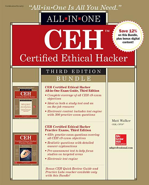CEH Certified Ethical Hacker Bundle  Third Edition PDF