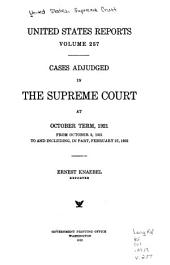 United States Reports: Cases Adjudged in the Supreme Court, Volume 257