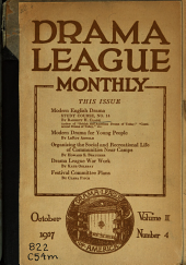 Modern English drama, study course: Issue 14