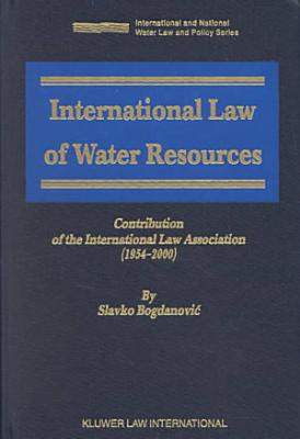 International Law of Water Resources PDF