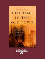 Hot Time in the Old Town PDF