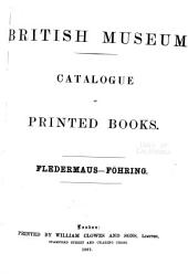 Catalogue of Printed Books in the Library of the British Museum: Volume 17