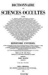 Encyclopédie théologique: ou, Série de dictionnaires sur toutes les parties de la science religieuse ... t. 1-50, 1844-1862; nouv, sér. t. 1-52, 1851-1866; 3e sér, Volume49