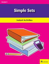 Simple Sets: Instant Activities
