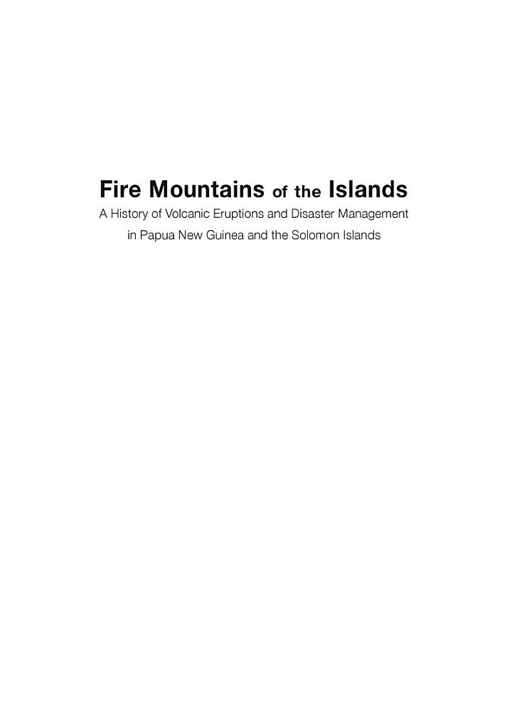 Fire Mountains of the Islands