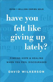Have You Felt Like Giving Up Lately  Book