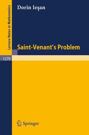 Saint Venant s Problem