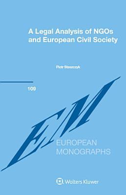 A Legal Analysis of NGOs and European Civil Society PDF