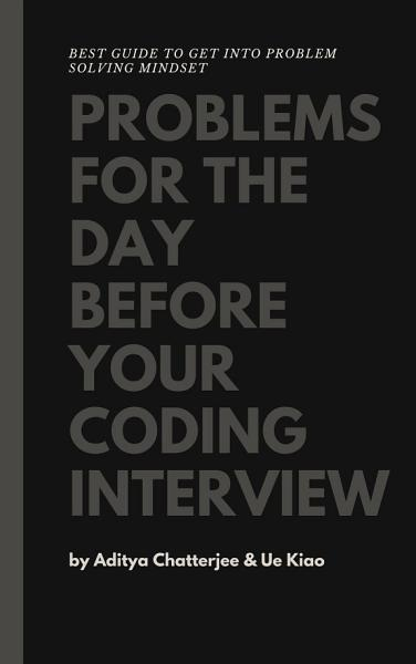 Problems for the day before your coding interview PDF