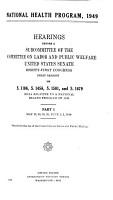 National Health Program  1949 PDF