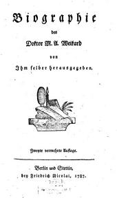 Biographie des Doktor M. A. Weikard