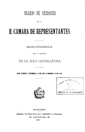 Diario de sesiones: Volumen 184
