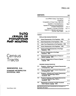 1970 Census of Population and Housing PDF