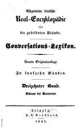 Allgemeine deutsche Real-Encyklopädie für die gebildeten Stände: Band 13